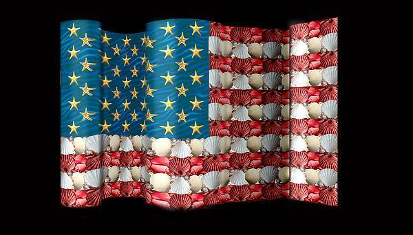 Una bandera para los oceanos de USA