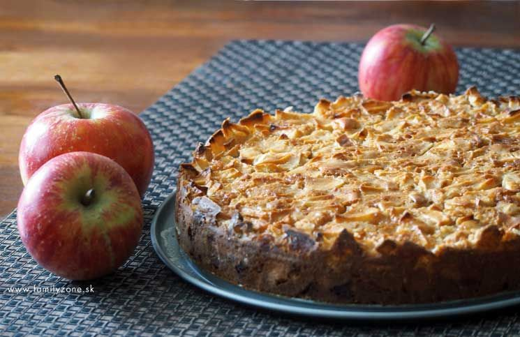 Šťavnatý jablkový koláč | www.familyzone.sk