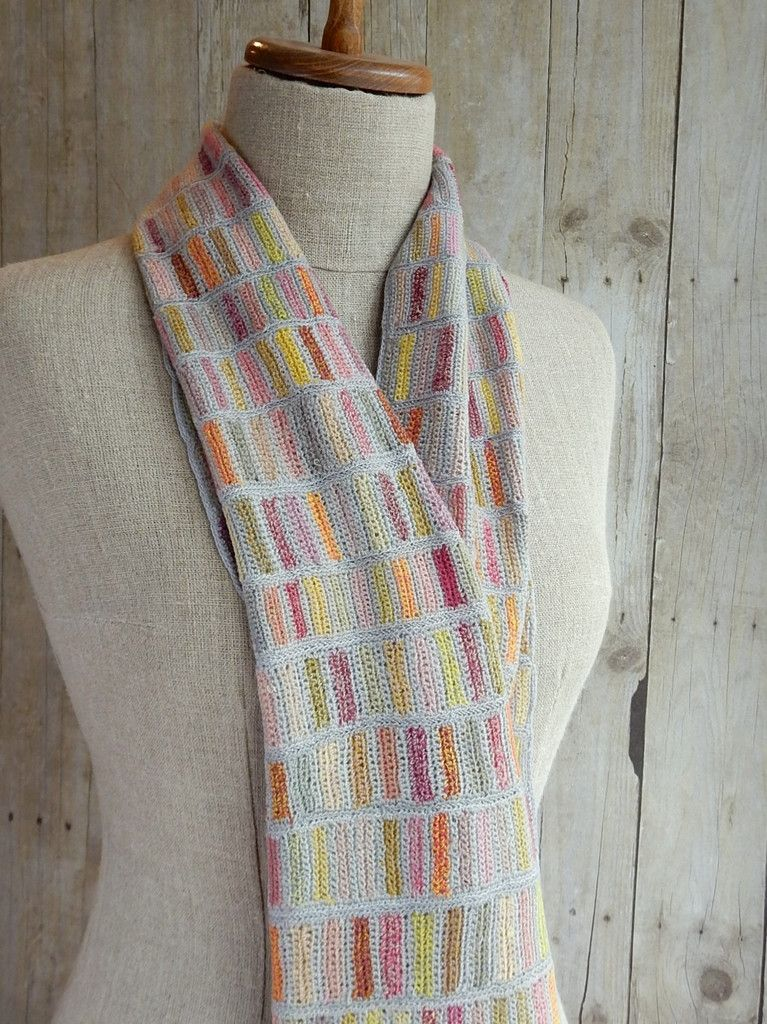 """""""Map"""" scarf - Sophie Digard crochet"""