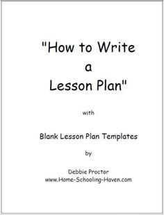 Free Printable Lesson Plan Template Search Results New - Free printable lesson plan template blank