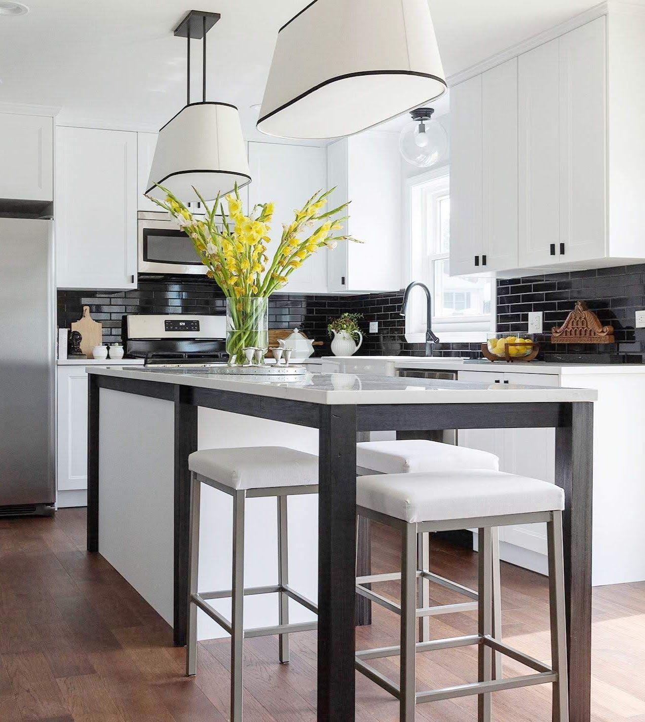 Axstad Black and White IKEA Kitchen White ikea kitchen