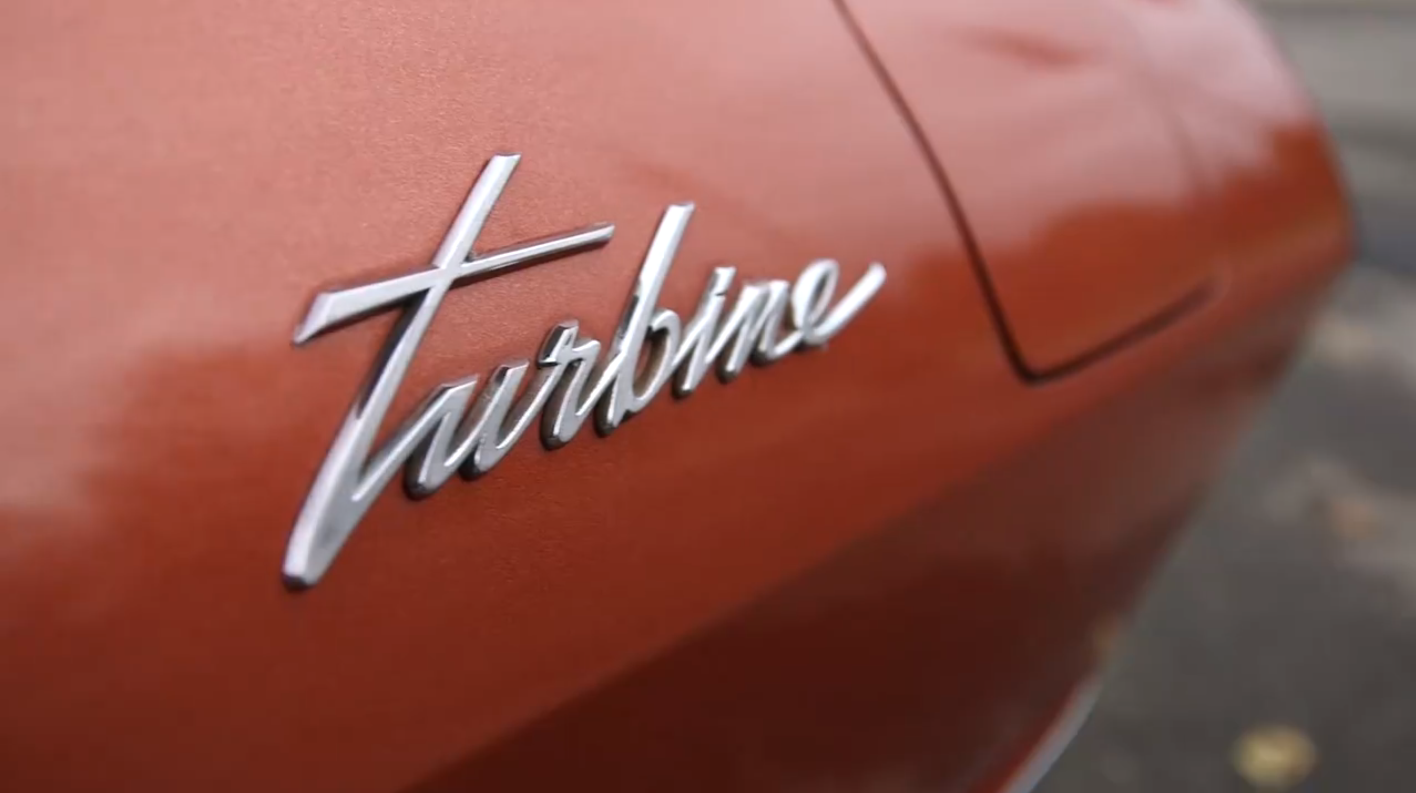 Chrysler Turbine Car. From CNNTech Bronte Lord's test-drive video.