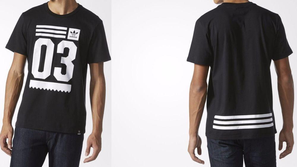 c760ff225 Men s adidas Originals TOOLKIT GRAPHIC TEE Black   White BJ8689  adidas   BJ8689