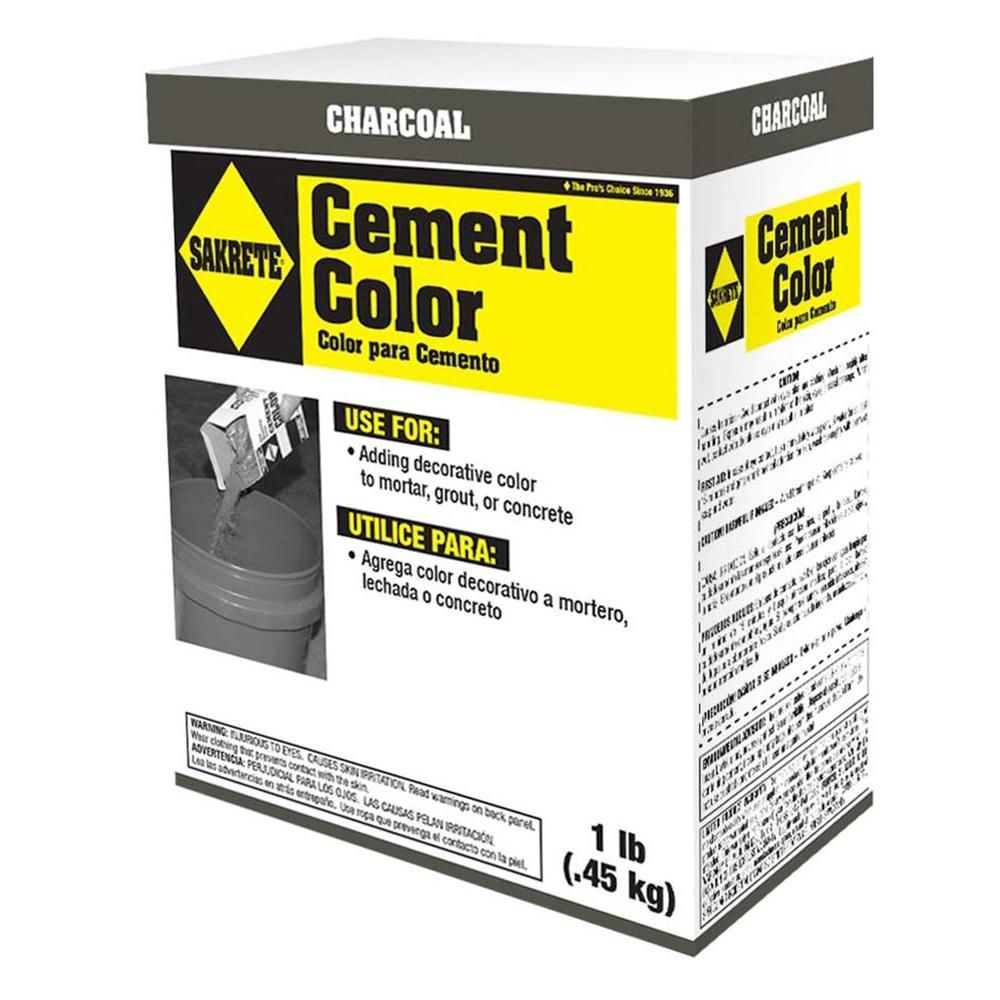 Sakrete 1 Lb Cement Color Charcoal 65075002 Cement Color Cement Concrete