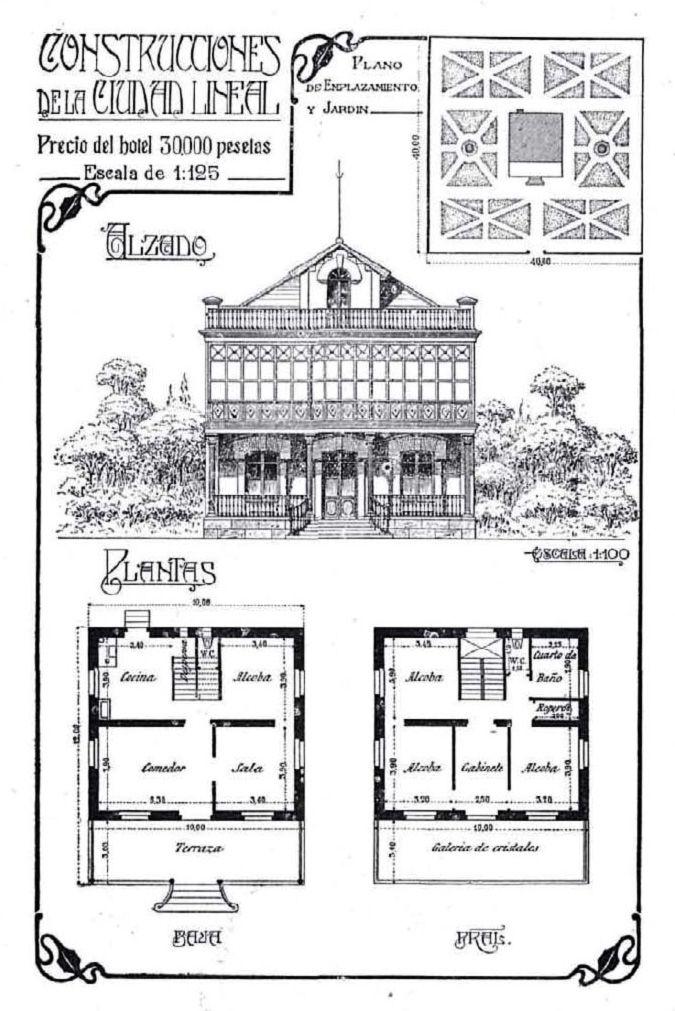 Ciudad lineal de arturo soria plano de casa situada en la - Apartamentos arturo soria ...