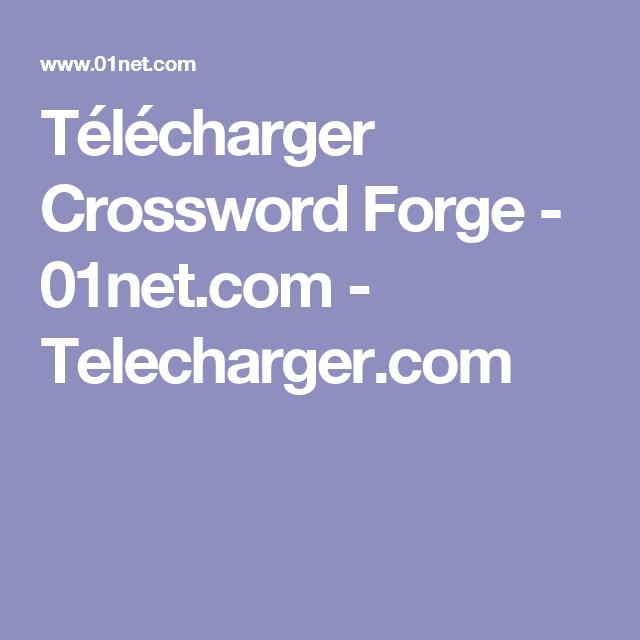 Home Design 3d 01net.com Part - 40: Télécharger Crossword Forge - 01net.com - Telecharger.com