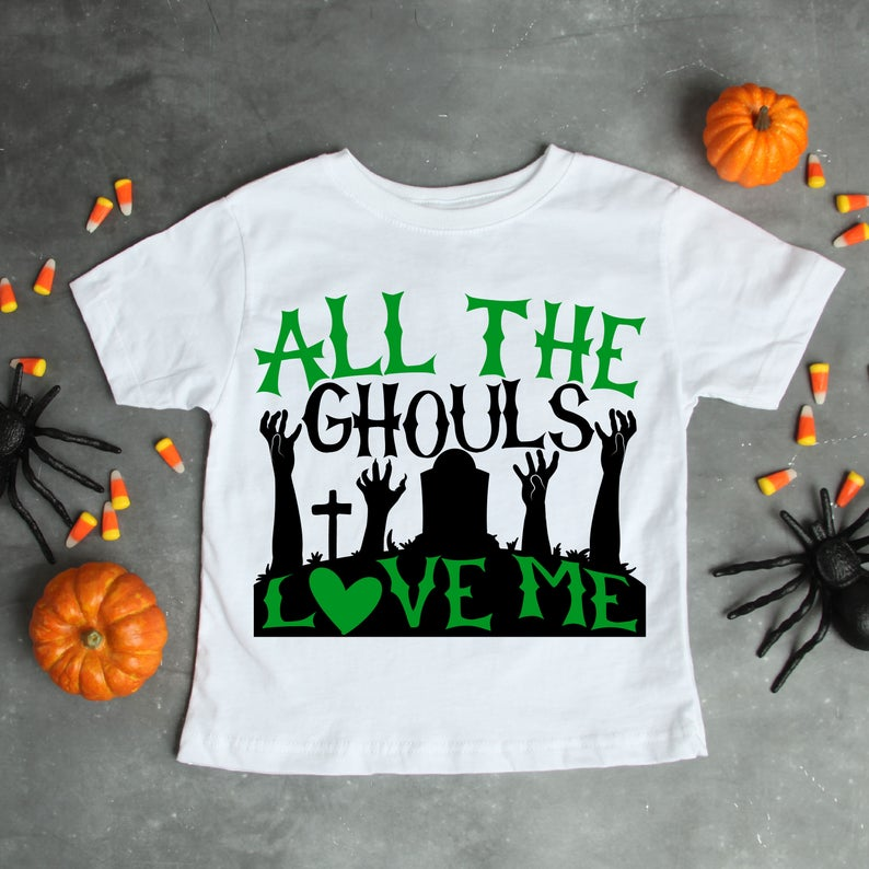 Download All the Ghouls Love me SVG, SVG files,Halloween SVG ...