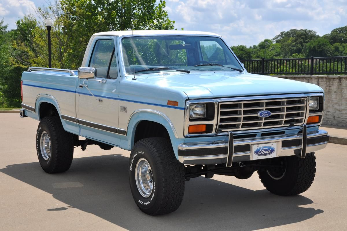 1986 Ford F 150 Lariat Xlt 4x4 Ford Trucks Old Ford Trucks Ford Pickup Trucks
