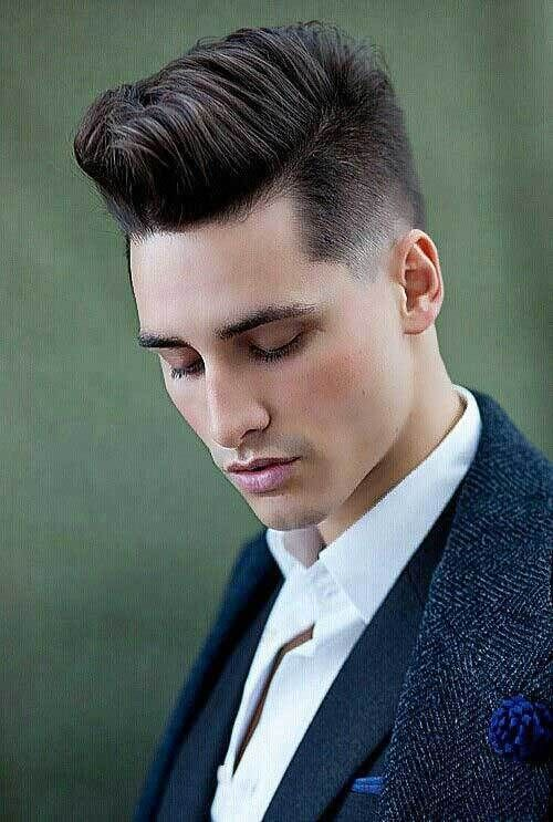 hairstyles clean shaven