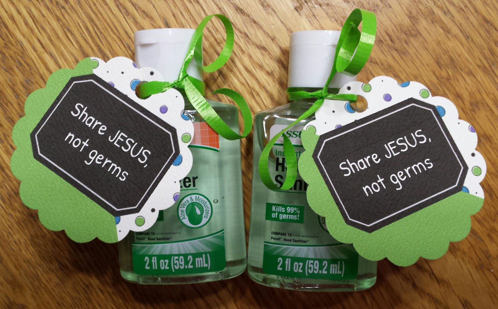 Share Jesus Not Germs Hand Sanitizer Gift Idea Hand