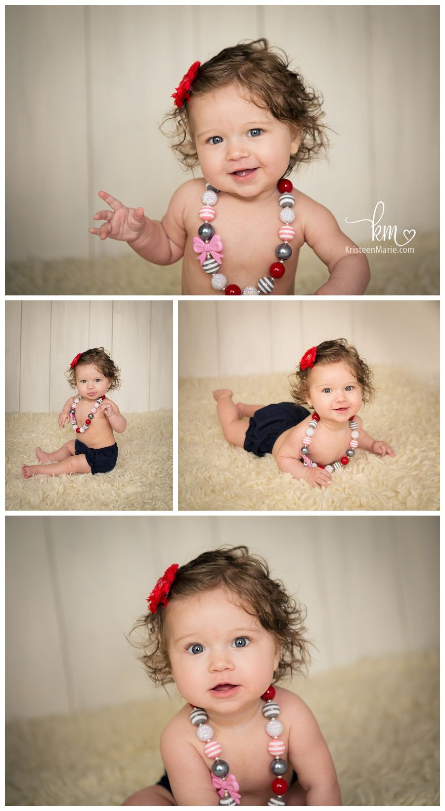 Ada S Sitter Session Indianapolis Photography Baby Girl
