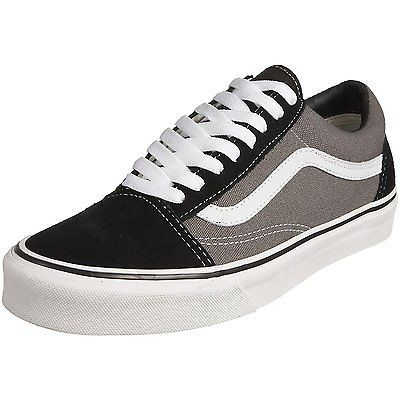 6.5 UK, Grey/Black/Pewter, Vans Old Skool, Unisex Adults'