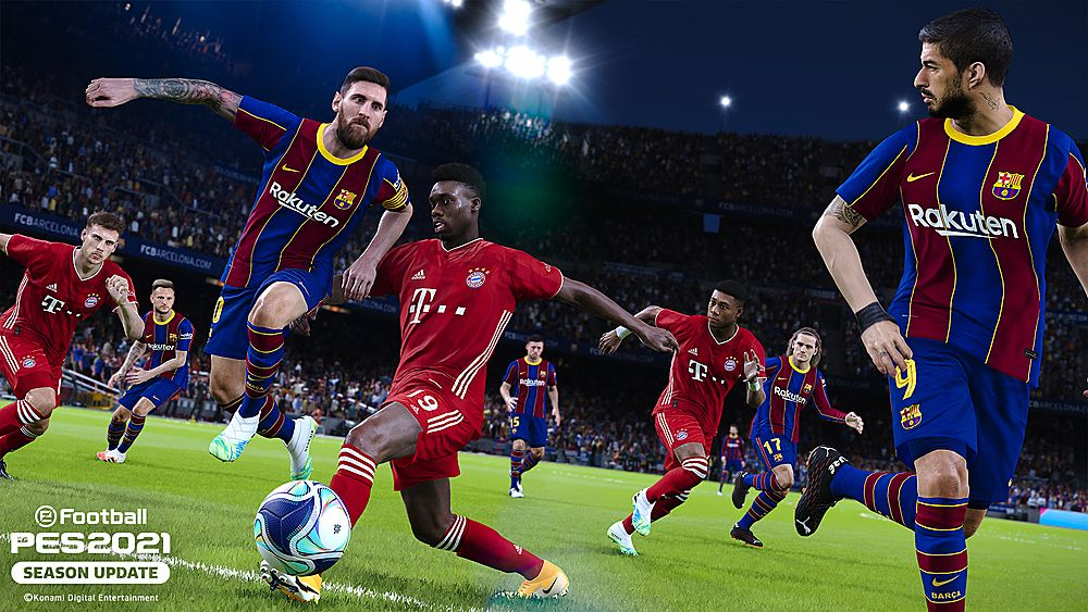 Efootball Pes 2021 Season Update Xbox One Best Buy Pro Evolution Soccer Soccer Evolution Soccer