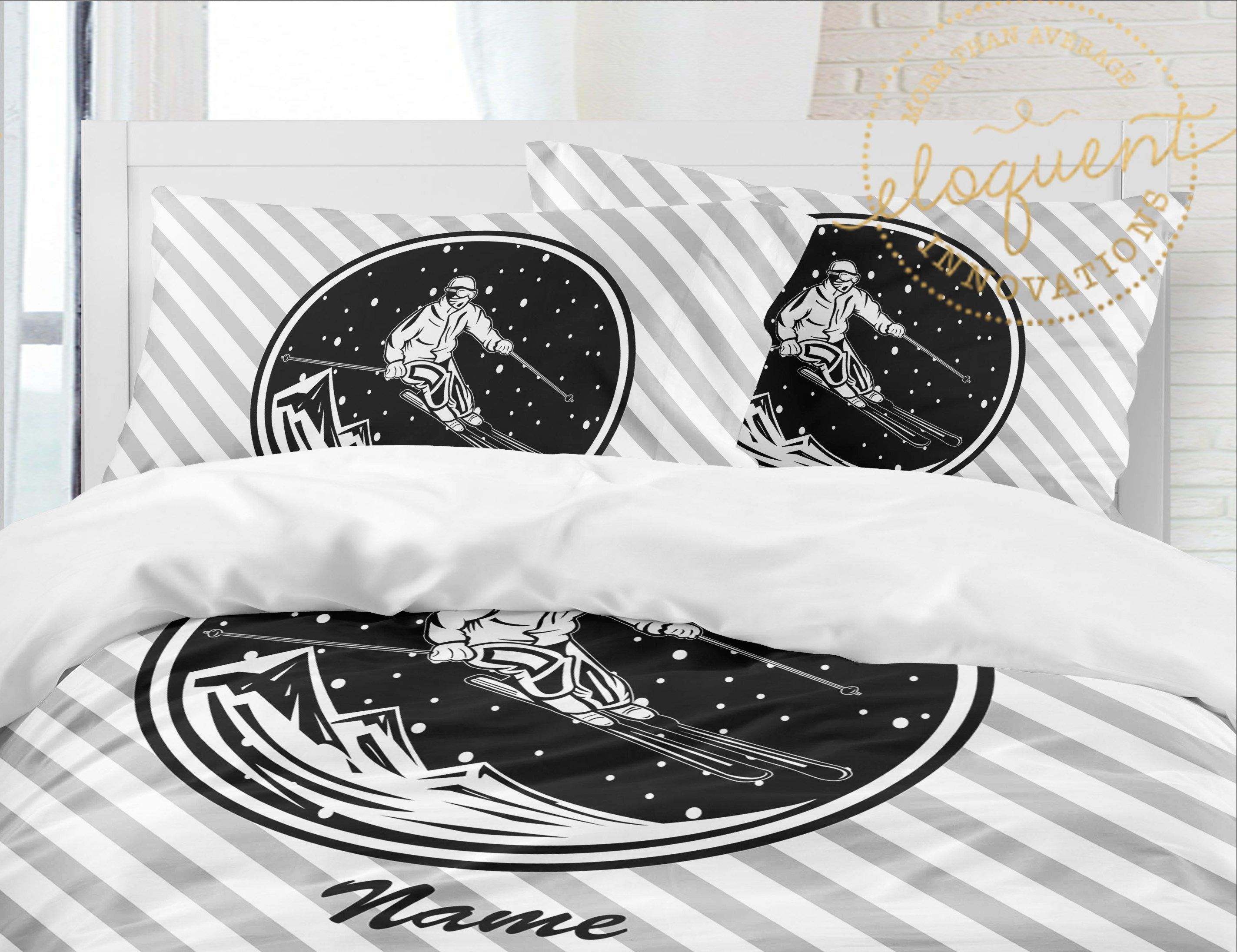 Ski Slope Flannel Bedding Bed Flannel Bedding Bed Furniture