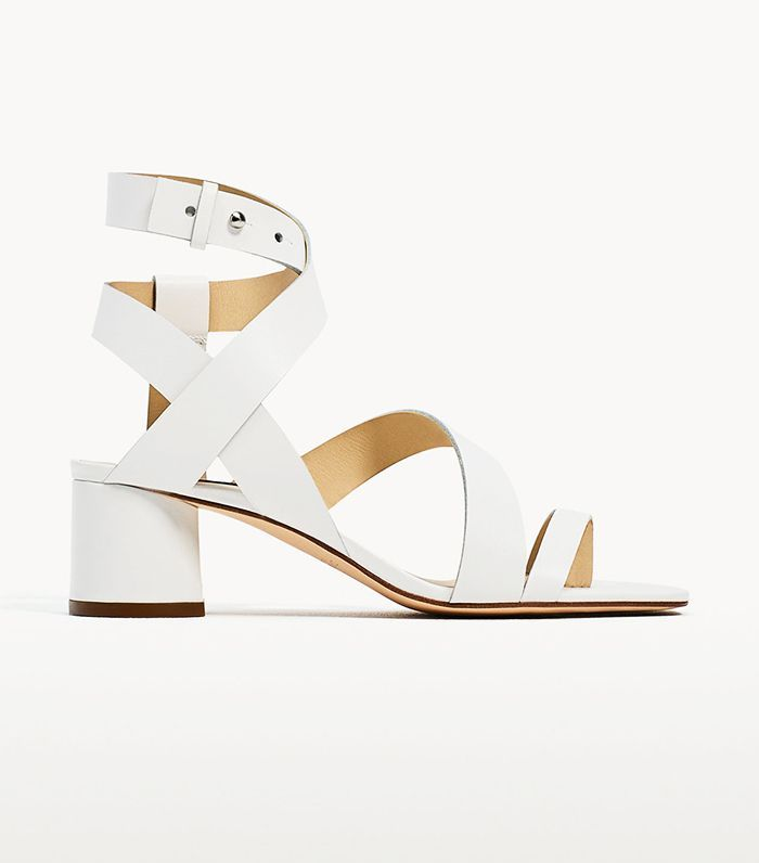 Zara has upped its shoe game even further with these pretty, expensive-looking things.