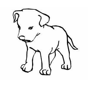 302d953ad29a676fbb410dcdf9c56d58 » Printable Pictures To Color Happy Dog