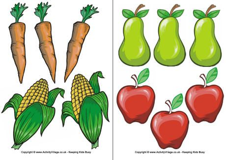 Punchy image regarding printable pictures of fruit and vegetables