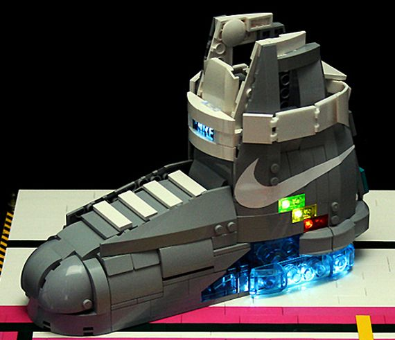 McFly lego shoes   Back to the future