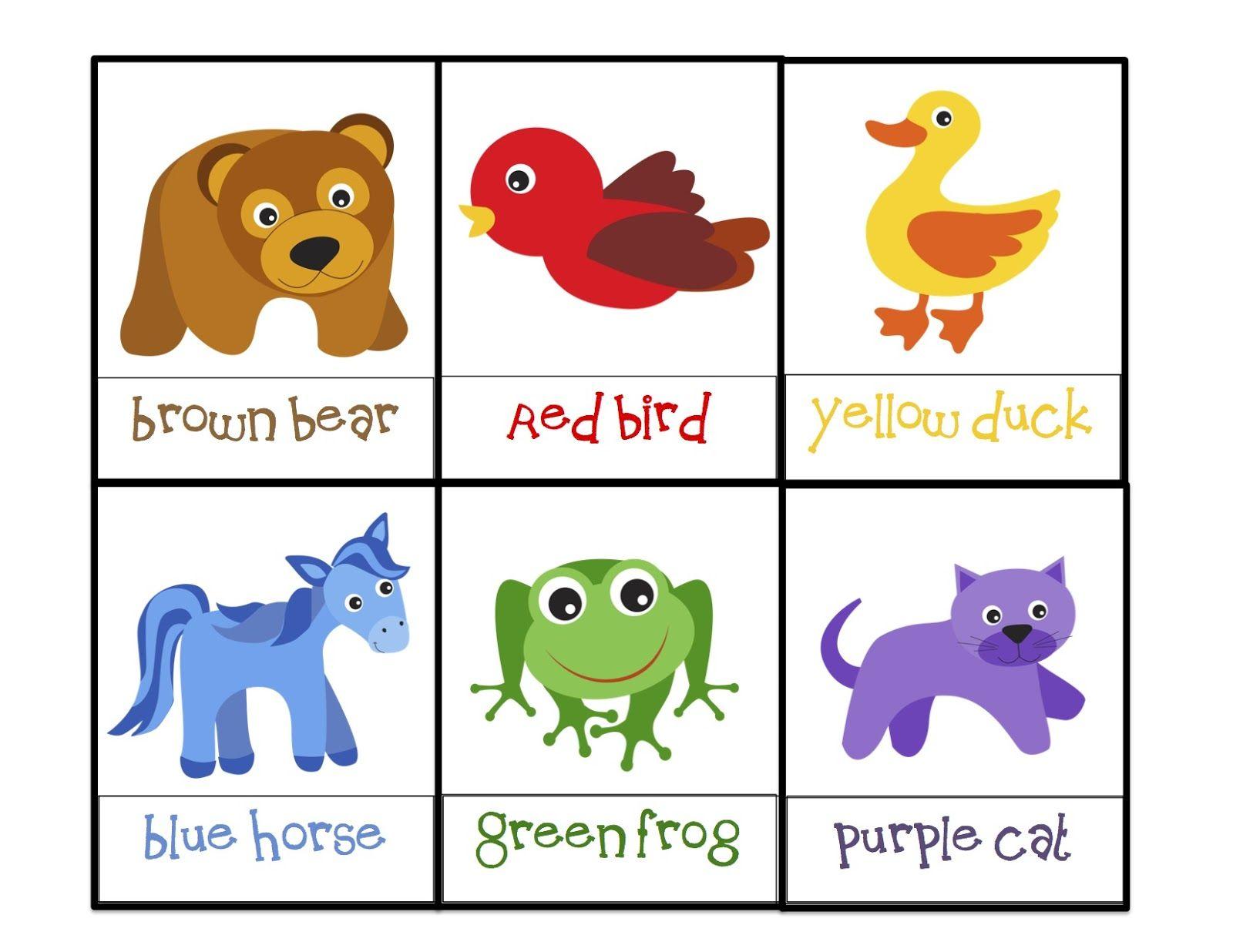 Preschool Printables: Brown Bear | Bears | Preschool ... - photo#41