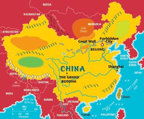 map of china for kids Printable Map Of China For Kids China For Kids China Map map of china for kids