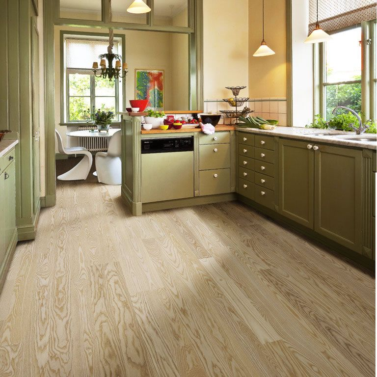 Kahrs Ash Falsterbo Engineered Wood Flooring - Kahrs Ash Falsterbo Engineered Wood Flooring Our New Kitchen