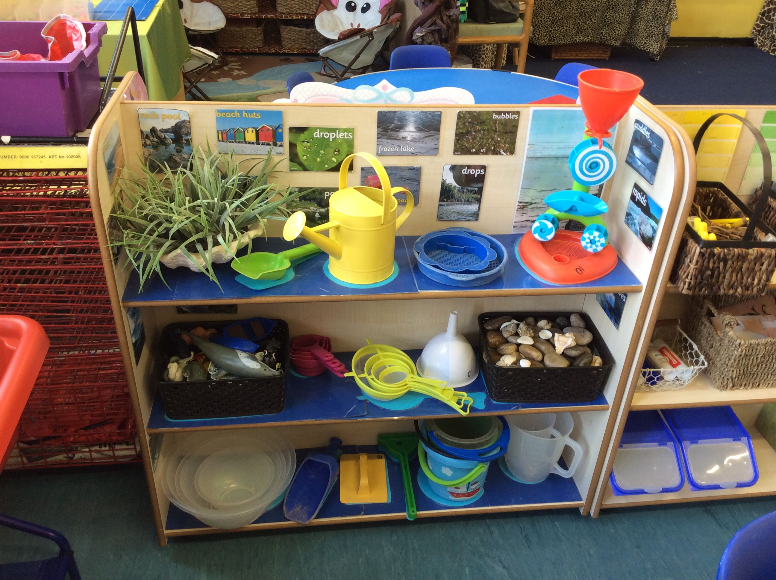 Classroom Ideas Early Years : Continuous provision fs sand water learning centres