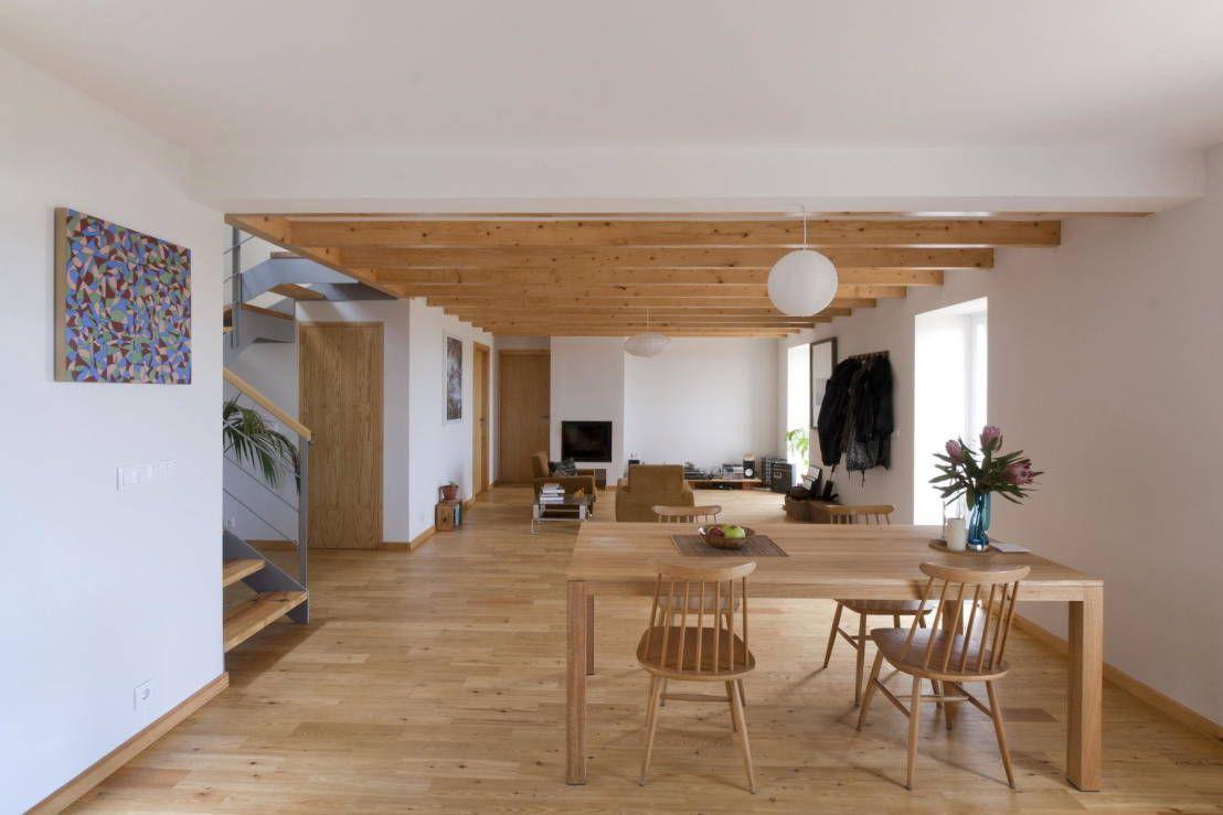 Sala da pranzo in stile rustico di Dirk Mayer Arquitectura e Design ...