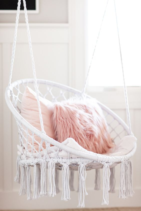 Pink Boho Girls Room Inspiration