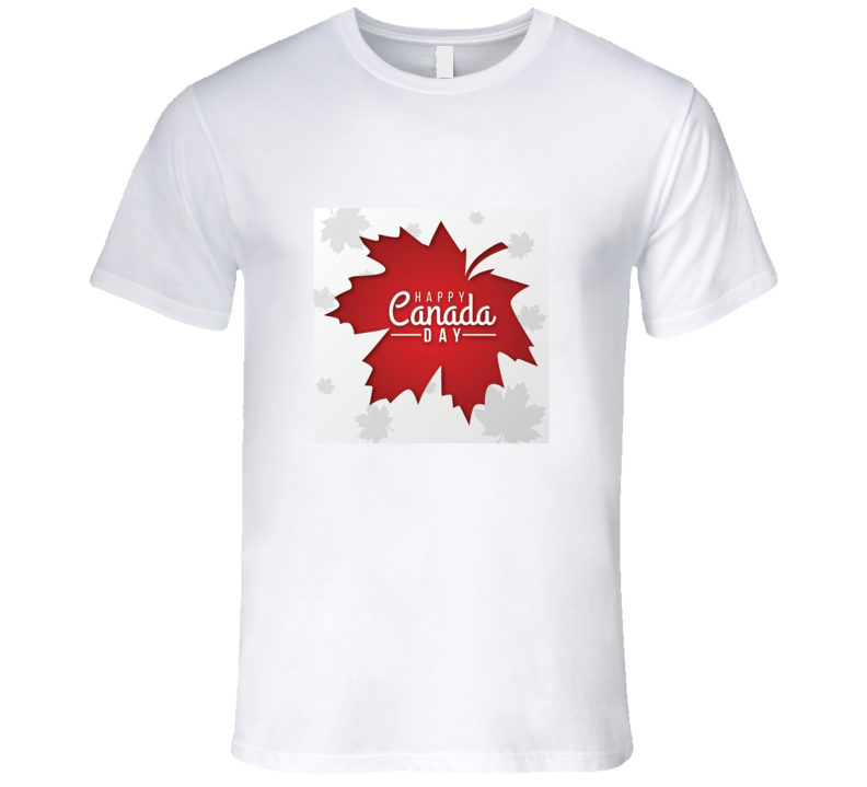 Happy Canada Day T Shirt in 2020 Canada day t shirts