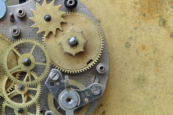Old Clock Mechanism Old Clocks Clock Mechanical Art
