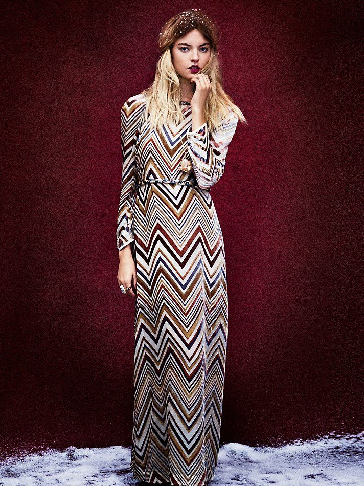bca8a1760f Free People Mirror Reflection Maxi | fall 2012 style | Fashion ...