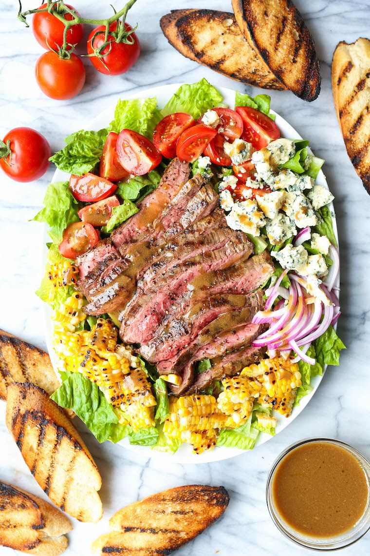 Gegrillter Steaksalat Mit Balsamico Vinaigrette Gesunde Rezepte Rezept Steak Salat Vinaigrette Gesunde Rezepte Abendessen