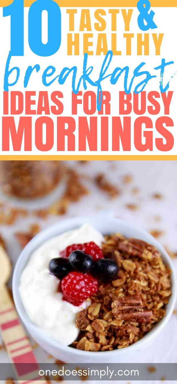 10 Healthy & Quick Breakfasts That Are Actually Easy to Make images