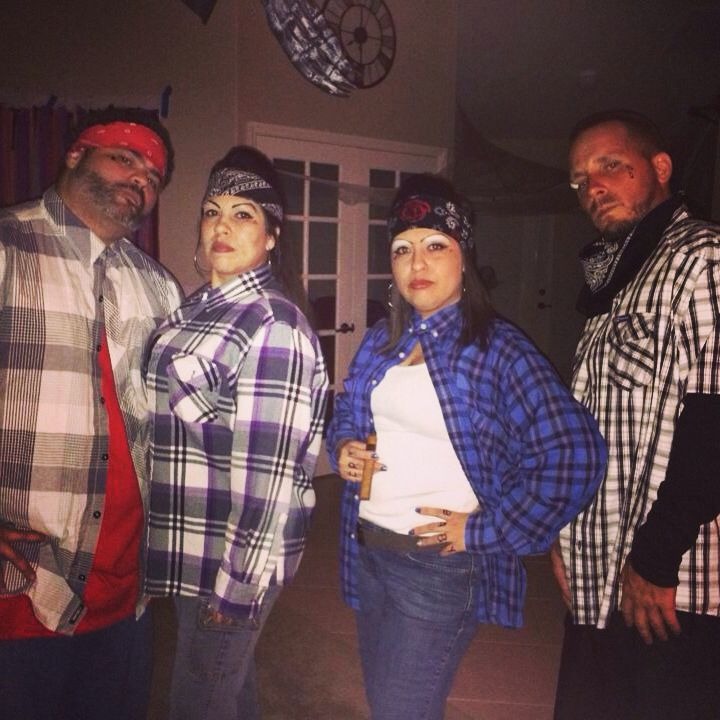Cholas and cholos Halloween costume!!   Costumes