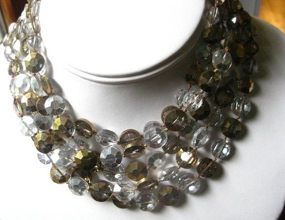 Reduced   Vintage Vogue Gold and Silver Aurora by OnTheRoadVintage, $38.00