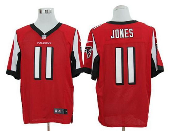 91b8ef00ad6 free shipping nike falcons 11 julio jones red team color mens nfl elite  jersey and cowboys