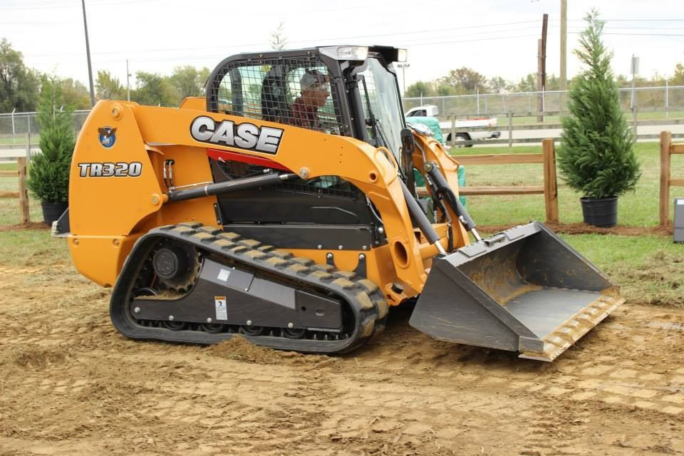 Case skid steer | Excavating | Tractors, Bobcat skid steer, Heavy
