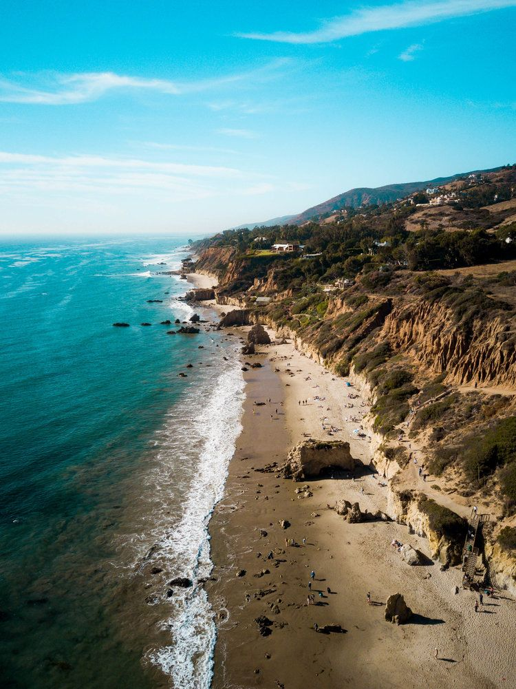 Best Beaches In Malibu 7 Beautiful Secluded Beaches You Should Visit Road Trip Usa In 2020 California Vacation Spots Los Angeles Beaches Secluded Beach