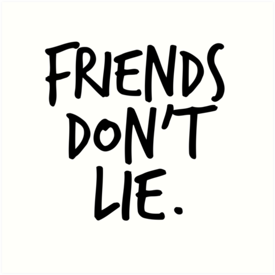 Friends Don T Lie Stranger Things By Medulla9324 In 2019