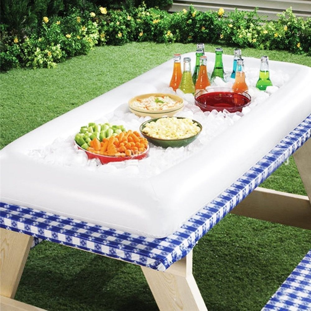 Inflatable Serving Bar, Buffet Salad Food & Drink Ice Cooler Picnic ...