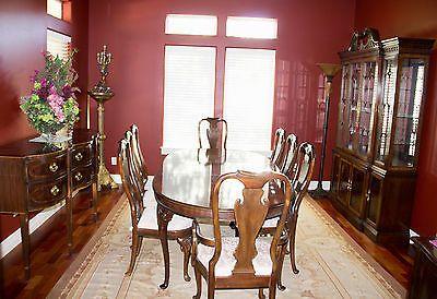 Beautiful Drexel Heritage Dining Room Set  Ebay  Furniture Extraordinary Heritage Dining Room Furniture Review