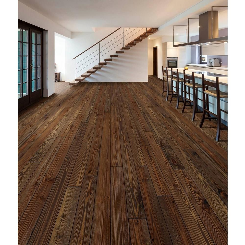Chestnut Pine Hand Sed Solid Hardwood 3 4in X 5 1 8in 100109305 Floor And Decor