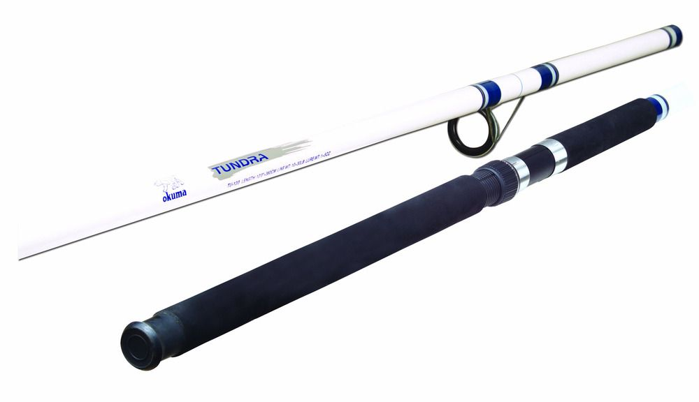 Ad Ebay Fishing Rod Pole Okuma Tundra Tu120 Surf Glass 12ft Spinning Rods White Blue Surf Rods Spinning Rods Surf Fishing Rods