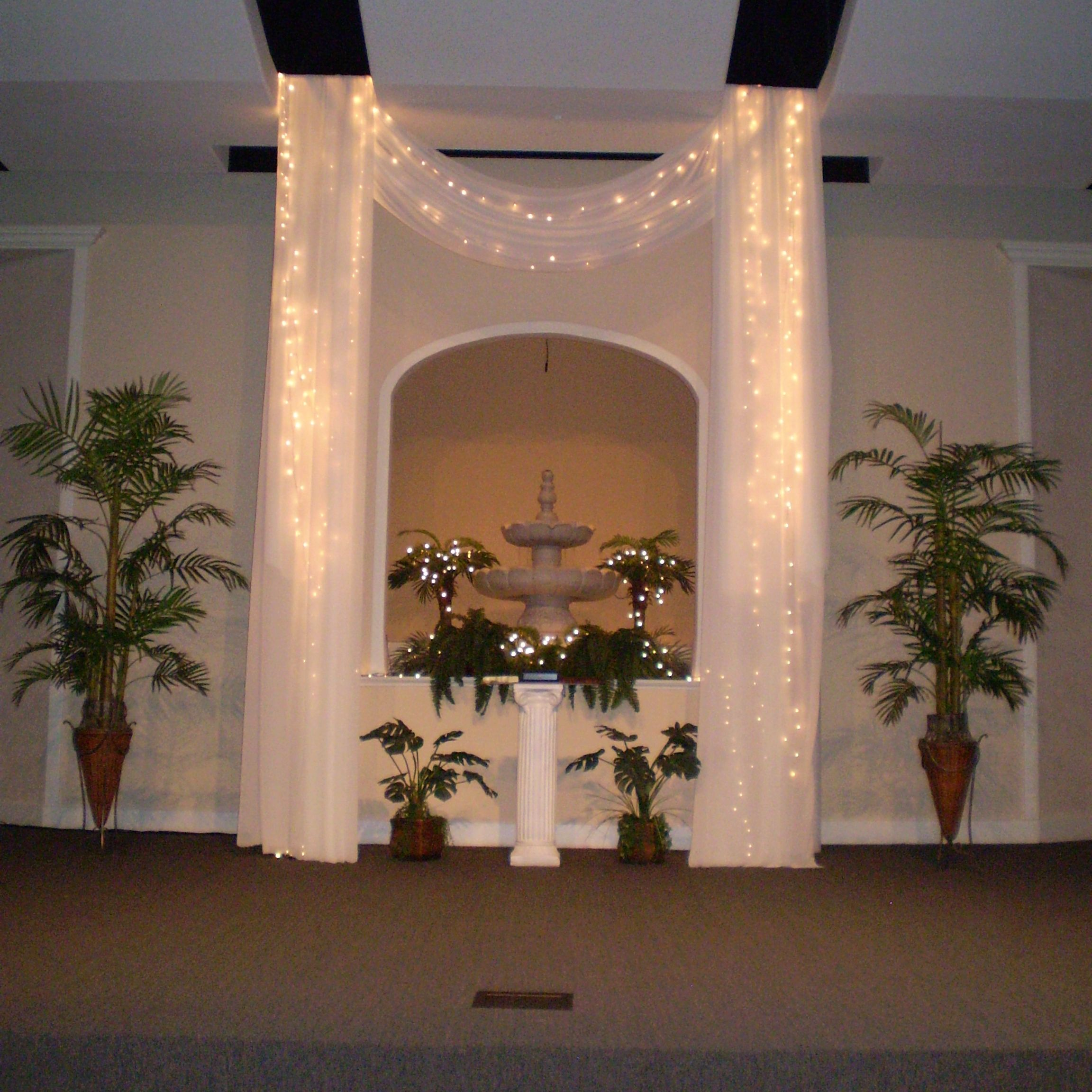 Indoor Wedding Themes: Indoor Garden Themed Wedding