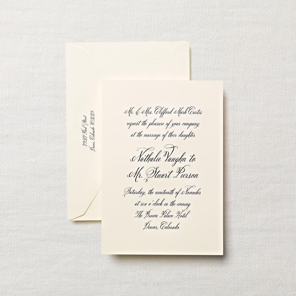 marriage invitation from bride and groom wording%0A Wedding Paper  A Comprehensive Guide for New Brides