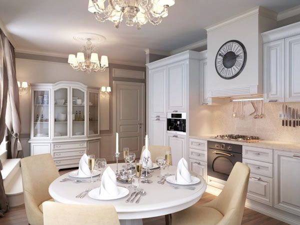 Russian apartment design dining room classy st petersburg apartment by anton valiev