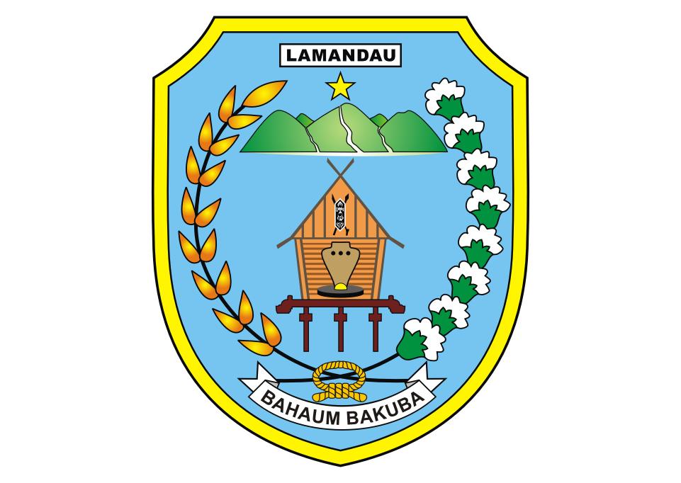 Logo Kabupaten Lamandau Vector Logos Vector Logo Free Logo