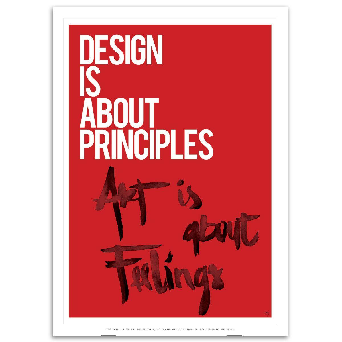 Design Principles. Art Feelings