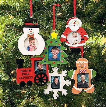 Marcos Para Fotos De Arbol De Navidad.Adornos Arbol Portarretratos Varios Manualidades