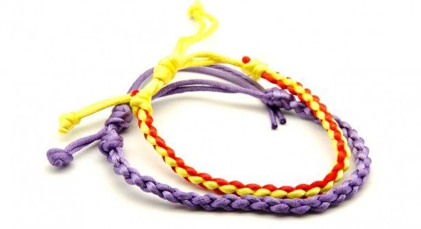 comment faire un bracelet kumihimo  u00e0 4 fils
